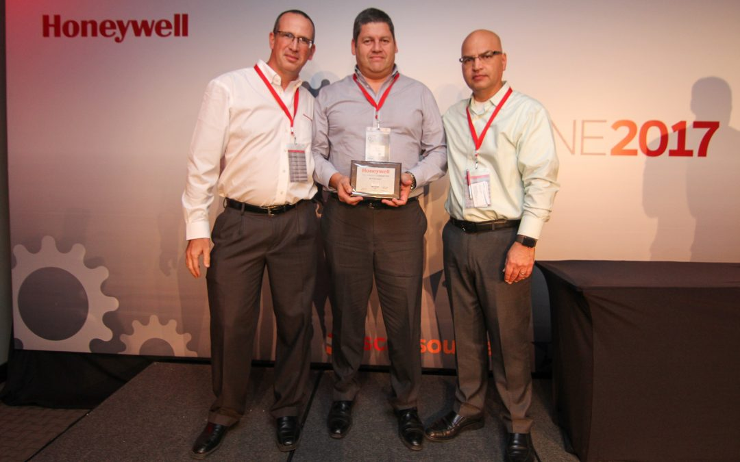 Somos Gold Performance Partner 2017 de Honeywell