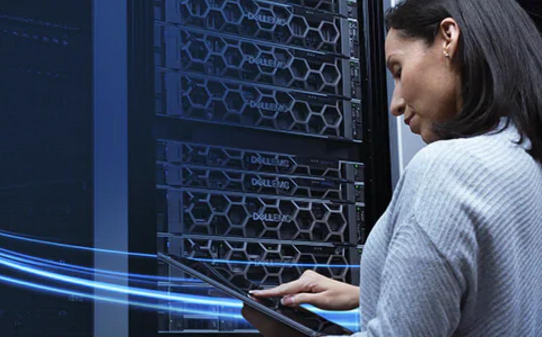 Servidores Dell para maximizar la productividad y el rendimiento