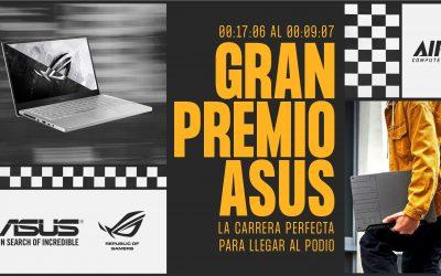 Conquistá el podio con el Gran Premio Asus