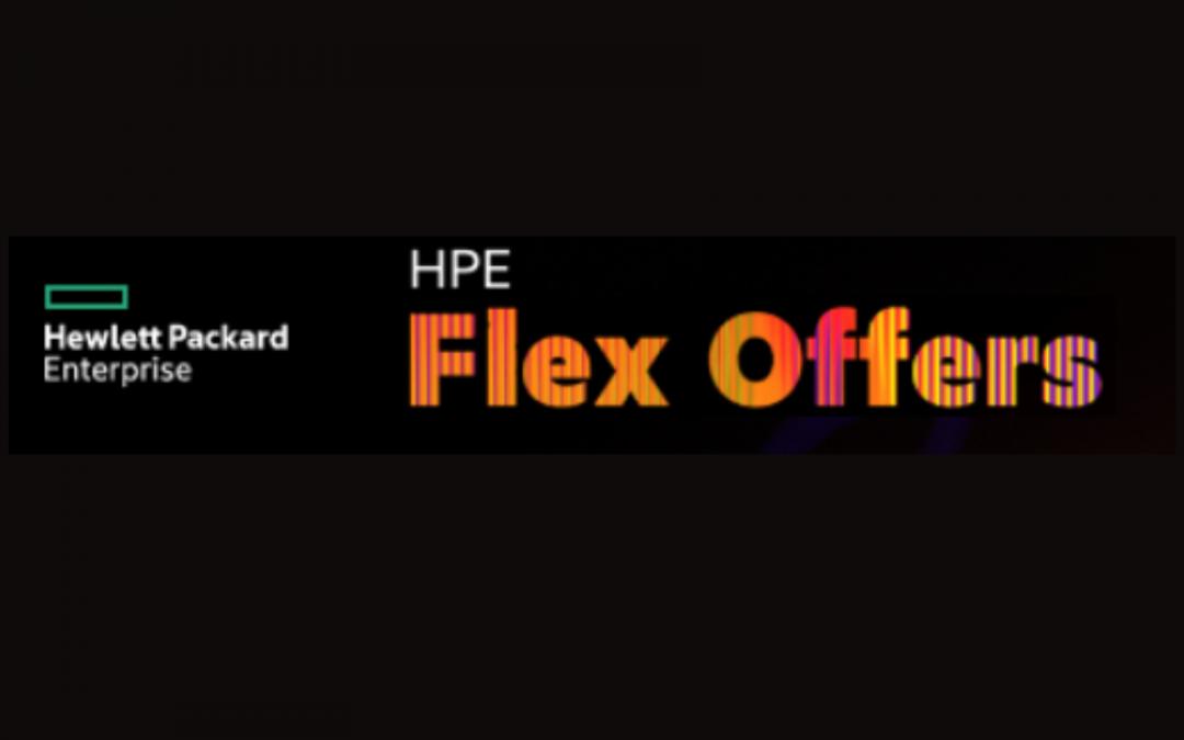 HPE Flex Offers: el ahorro que esperás cuando lo necesitás