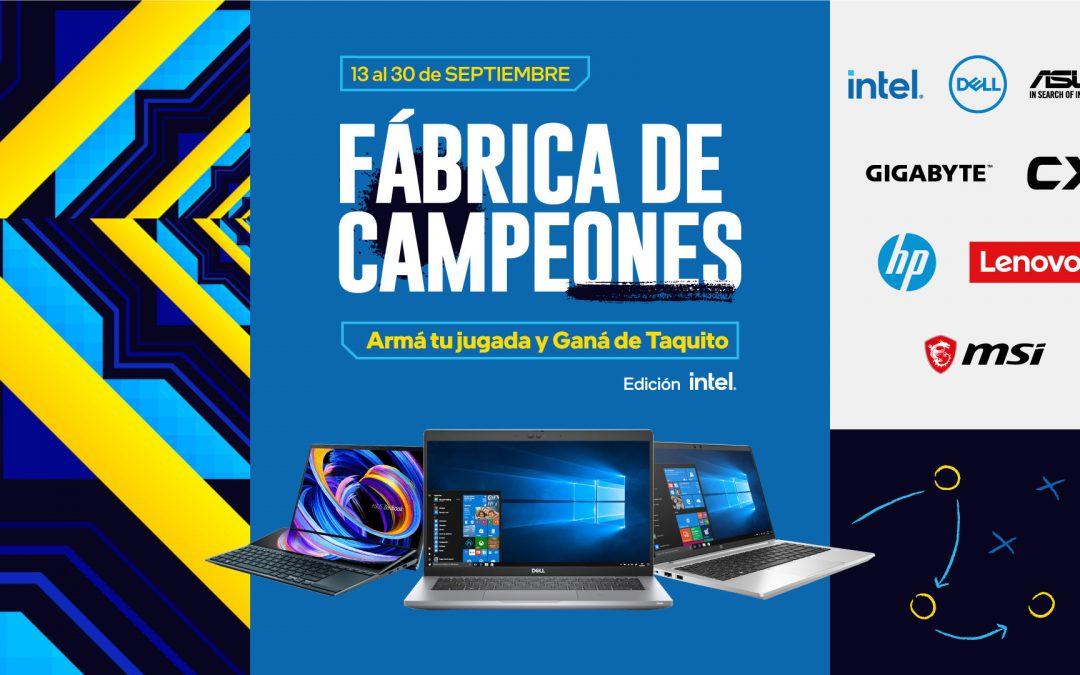Vibró el área de juego con Fábrica de Campeones edición Intel